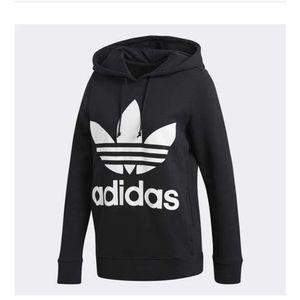 Adidas✨Black hoodie